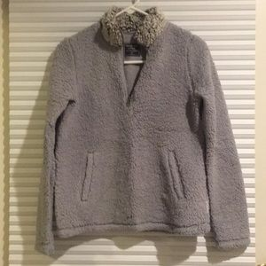 Abercrombie and Fitch Sherpa pullover